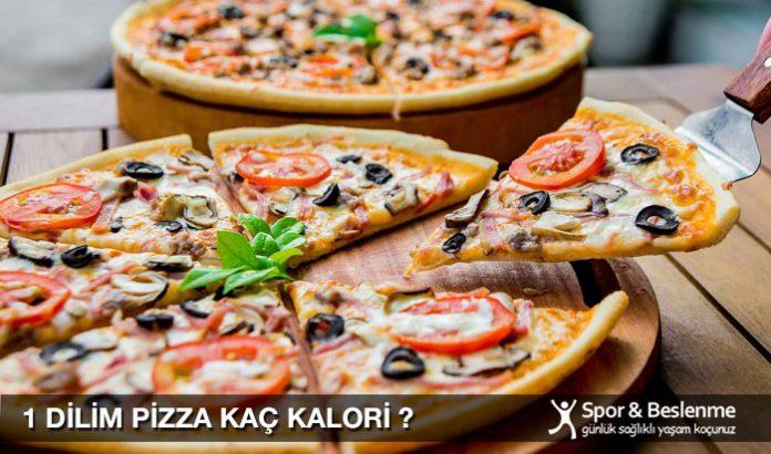 1 dilim pizza kaç kalori