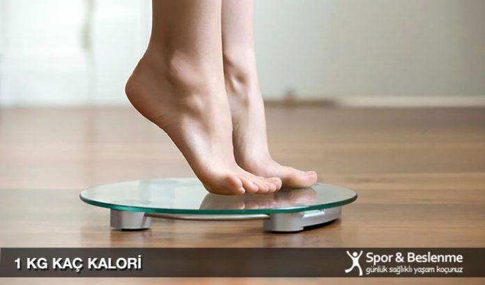 1 kg kaç kalori