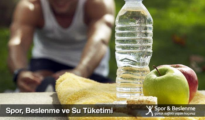 dengeli beslenmede su tüketimi ve spor