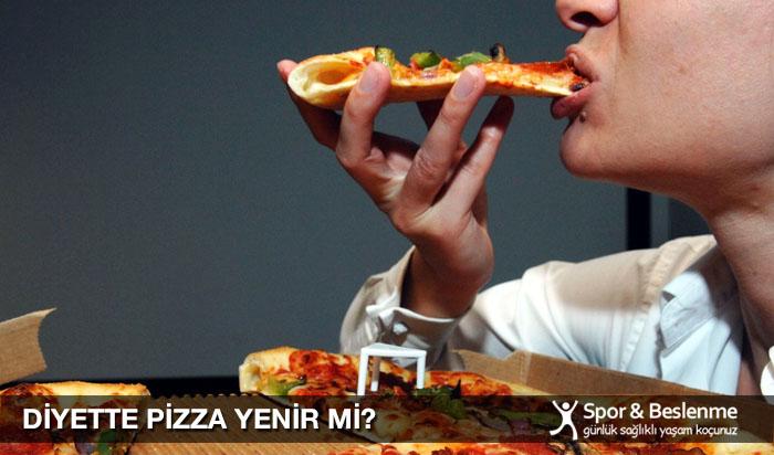 diyette pizza yenir mi