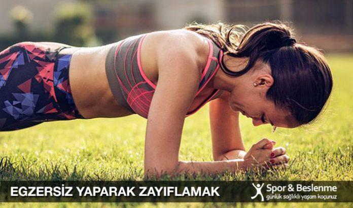 egzersiz yaparak zayıflamak mümkün mü