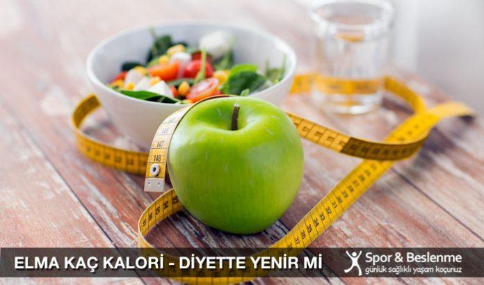 elma kaç kalori diyette elma yenir mi