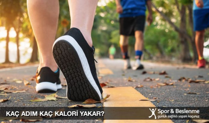 kaç 7000 adım kaç kalori yakar