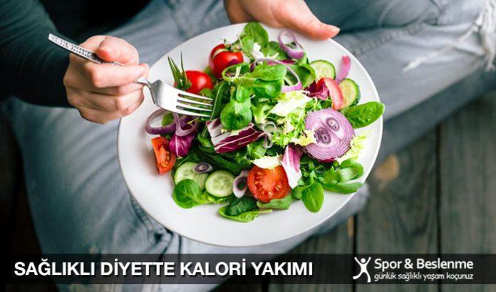 sağlıklı diyette kalori nasıl yakılır