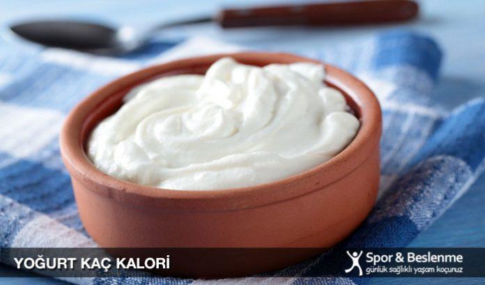 yoğurt kaç kalori