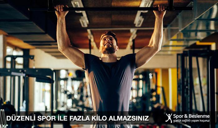 düzenli spor yapmak fazla kilolardan kurtarır