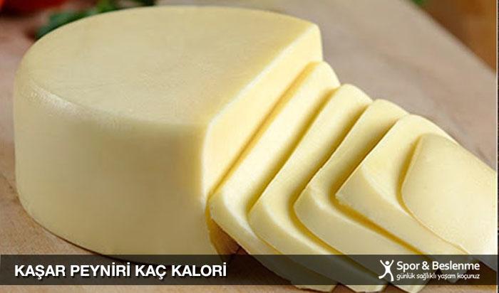 kaşar peyniri kaç kalori