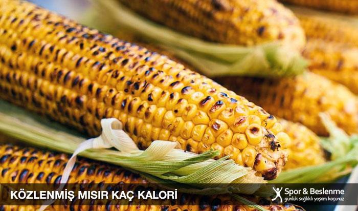 közlenmiş mısır kaç kalori