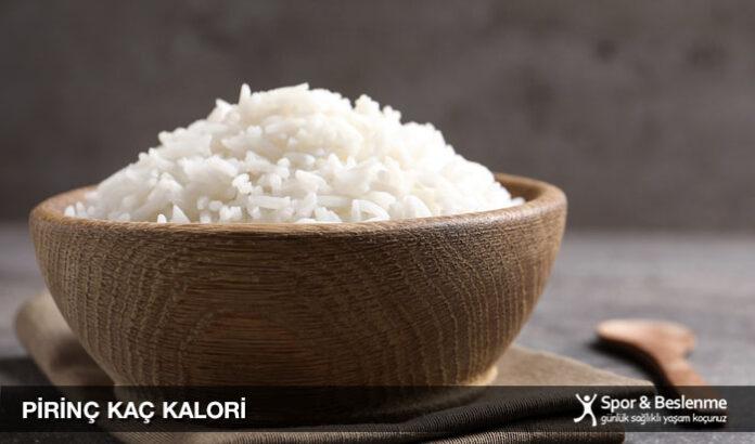 pirinç kaç kalori