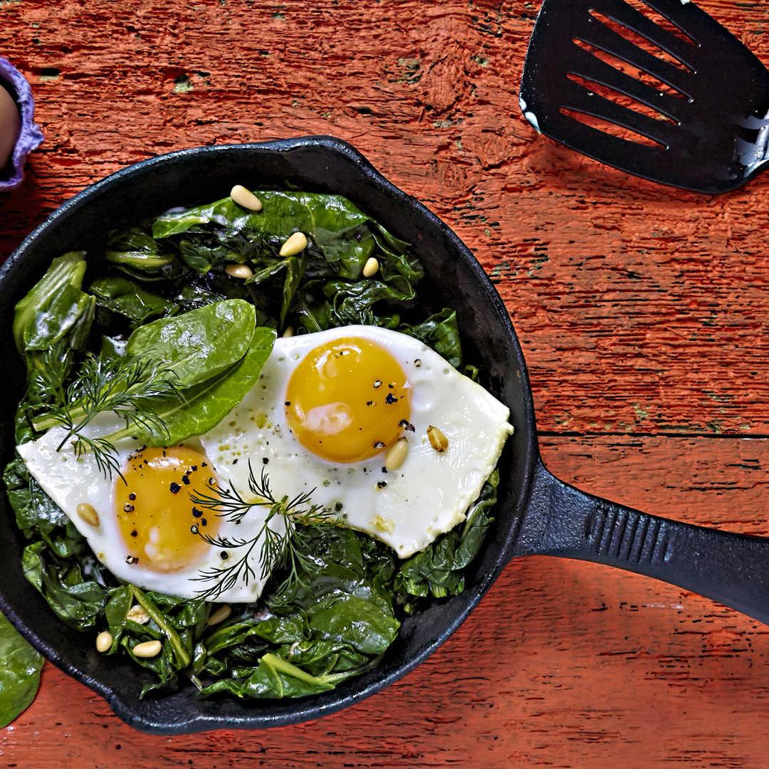 Yumurtalı Ispanak Yemeği Kaç Kalori