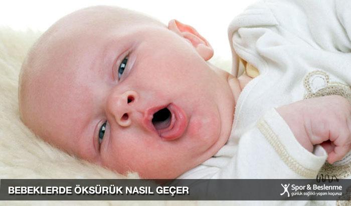 bebeklerde kuru öksürük nasıl geçer