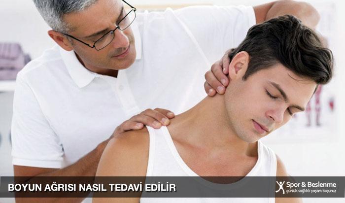 boyun ağrısı nasıl tedavi edilir