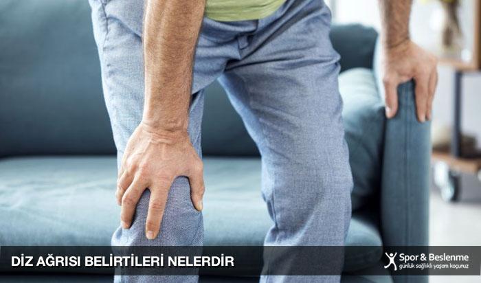 diz ağrısı belirtileri nelerdir