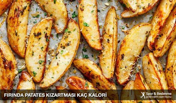 fırında patates kızartması kaç kalori