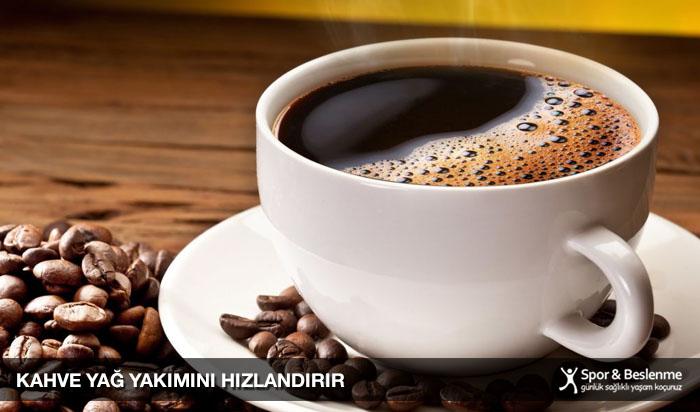 kahve yağ yakımını hızlandırır
