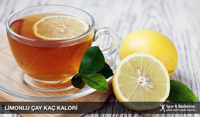 limonlu çay kaç kalori