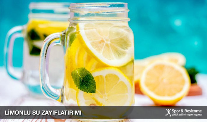 limonlu su zayıflatır mı