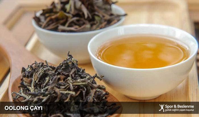 metabolizmayı hızlandıran oolong çayı