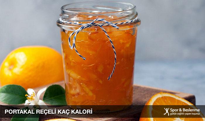 portakal reçeli kaç kalori