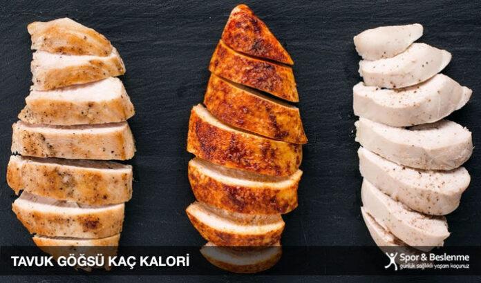 tavuk göğsü kaç kalori