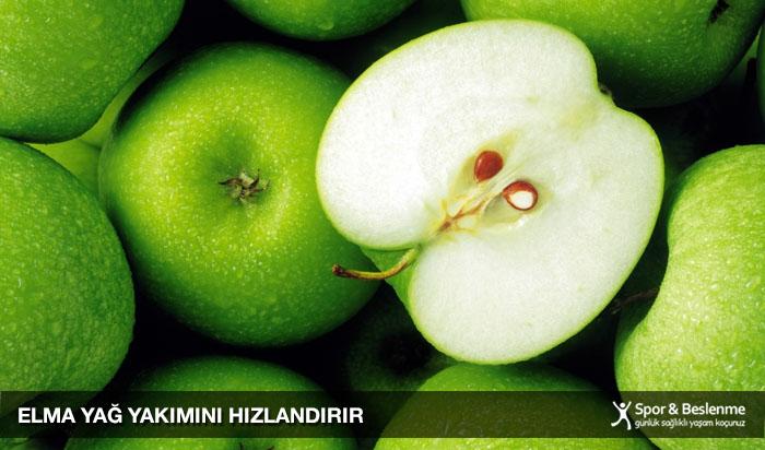 yağ yakımına yardımcı elma
