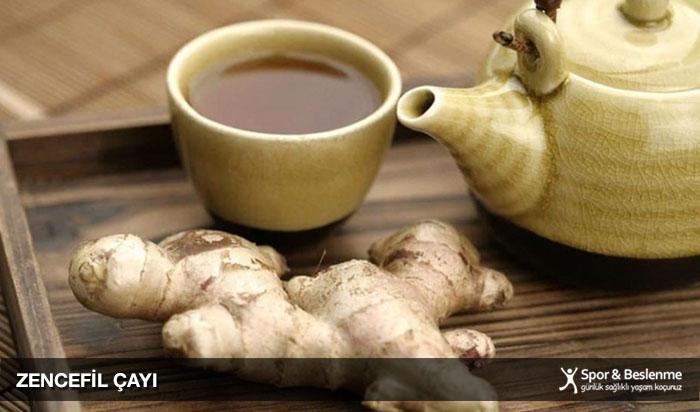 zencefil çayı metabolizmayı hızlandırır