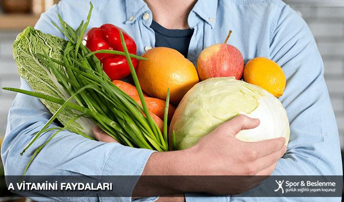 a vitamini faydaları nelerde bulunur