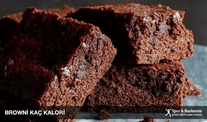 browni kaç kalori