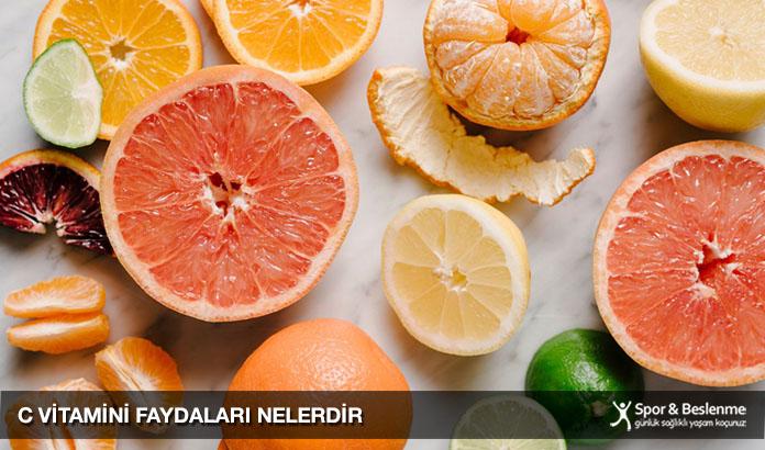 c vitamini faydaları nelerdir