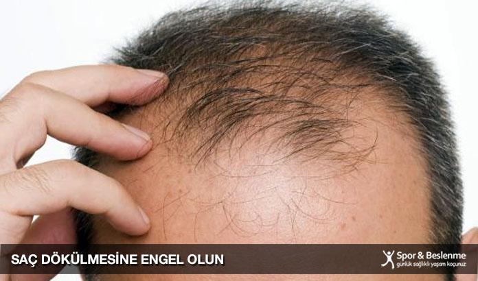 saç dökülmesine engel olun