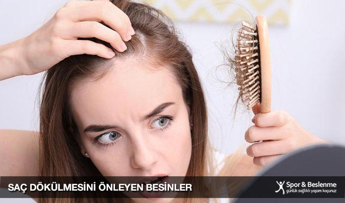 saç dökülmesini önleyen besinler