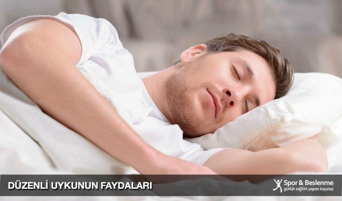 kaliteli düzenli uykunun fayaları nelerdir