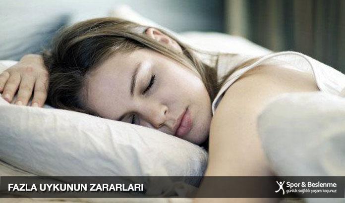 fazla uykunun zararları nelerdir