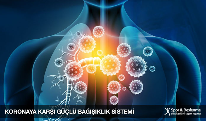 koronaya karşı güçlü bağışıklık sistemi
