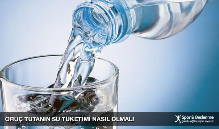 oruç tutanın su tüketimi nasıl olmalı