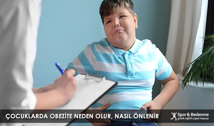 Çocuklarda Obezite Neden Olur, Nasıl Önlenir