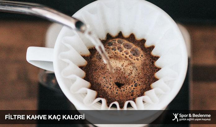 filtre kahve kaç kalori
