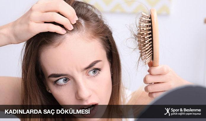 kadınlarda saç dökülmesine ne iyi gelir