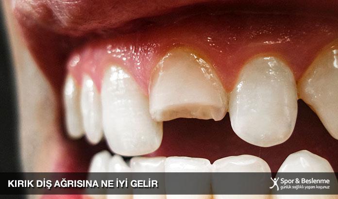 kırık diş ağrısına ne iyi gelir