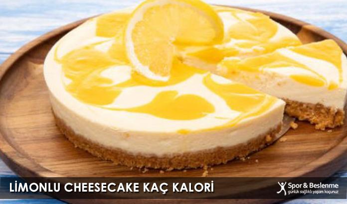 Limonlu Cheesecake Kaç Kalori