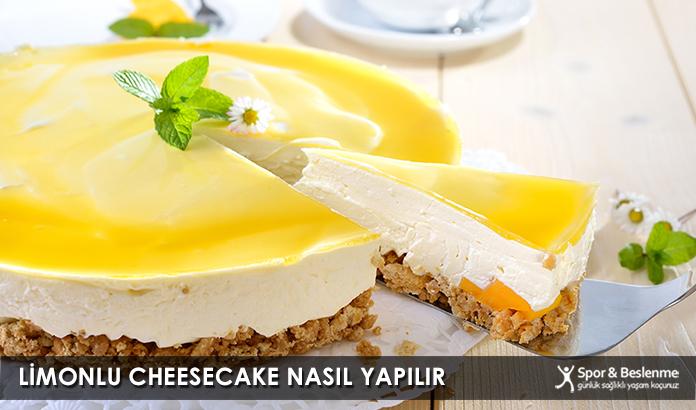 Limonlu Cheesecake Nasıl Yapılır