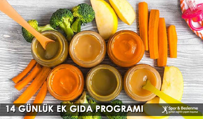14 Günlük Ek Gıda Programı