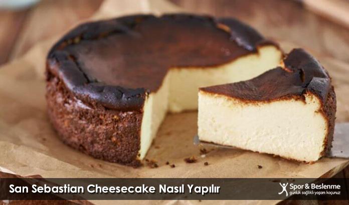 San Sebastian Cheesecake Nasıl Yapılır