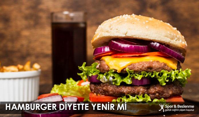 Hamburger Diyette Yenir Mi