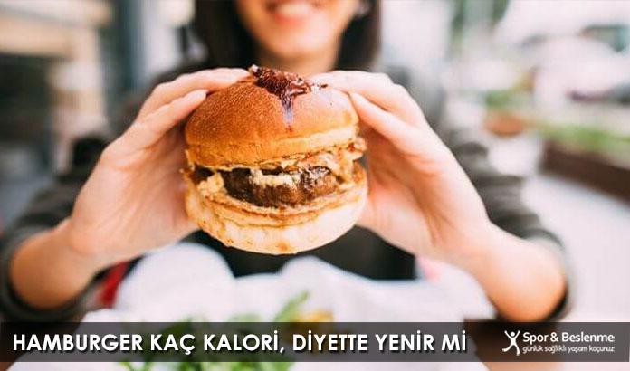 Hamburger Kaç Kalori, Diyette Yenir Mi