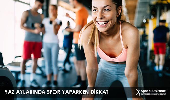 Yaz Aylarında Spor Yaparken Dikkat