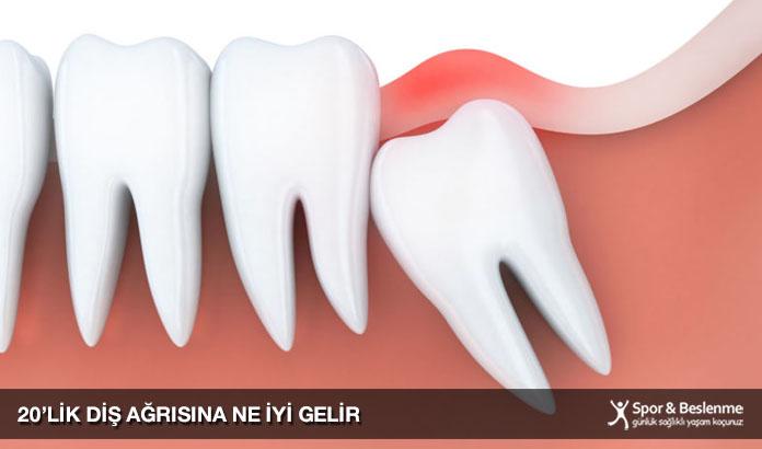 20'lik diş ağrısına ne iyi gelir