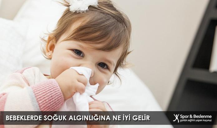 Bebeklerde Soğuk Algınlığına Ne İyi Gelir