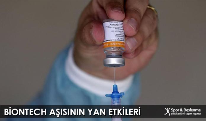 Biontech Aşısının Yan Etkileri