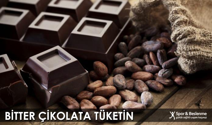 Bitter Çikolata Tüketin